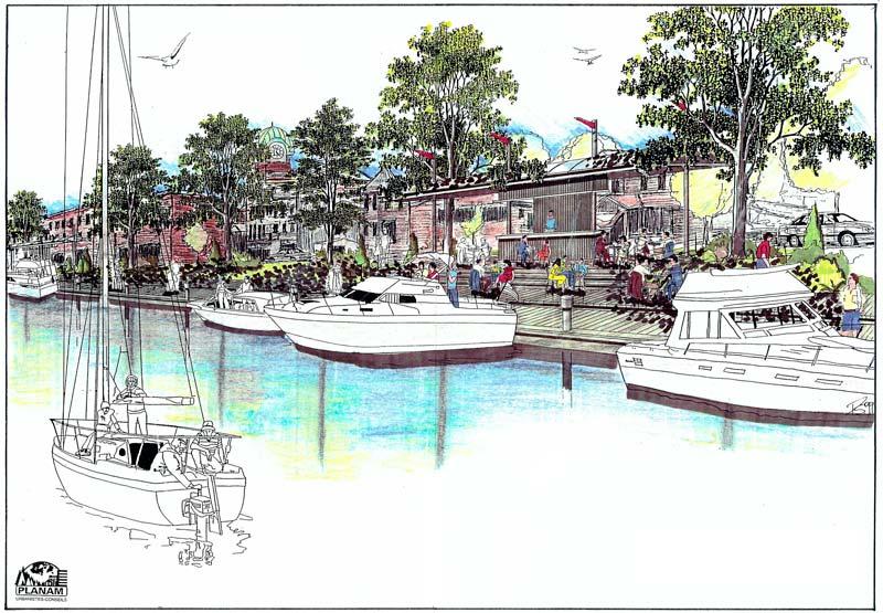 Planification du développement · Mise en valeur de la Baie Saint-François