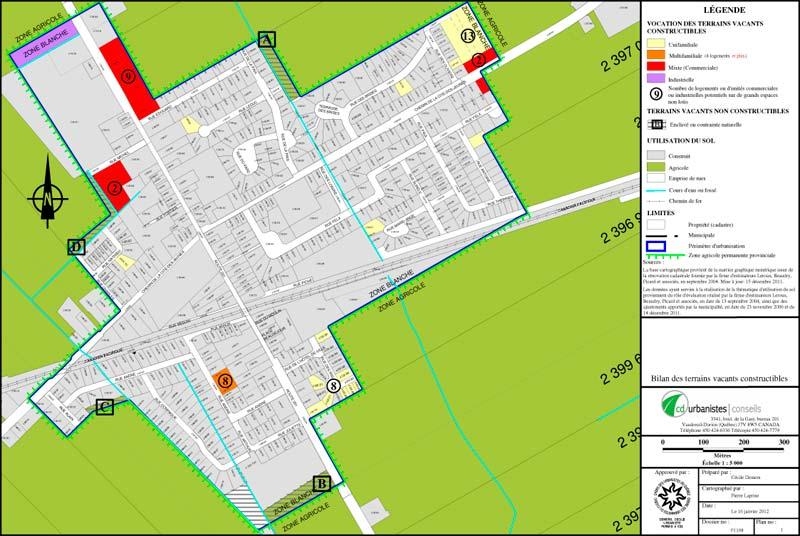 Zone Agricole · Autorisation CPTAQ