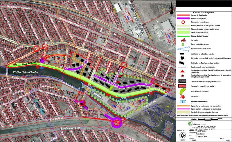 Planification du développement · Concept d'aménagement résidentiel 2