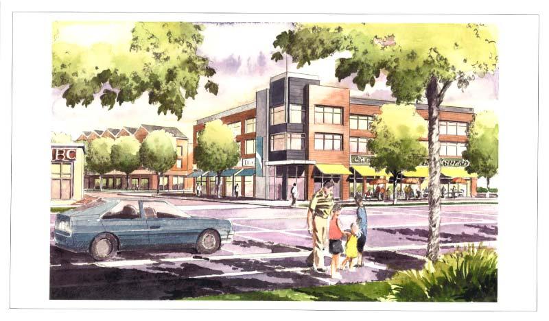 Planification du développement · Centre d'affaires du Suroît