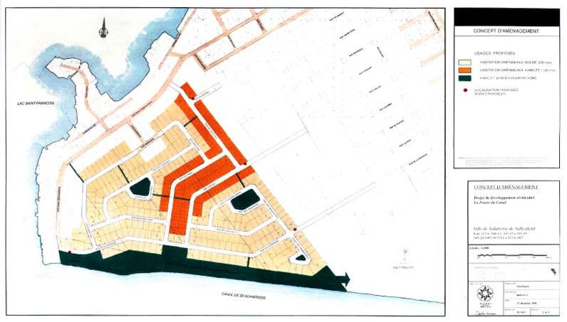Planification du développement · Concept d'aménagement résidentiel