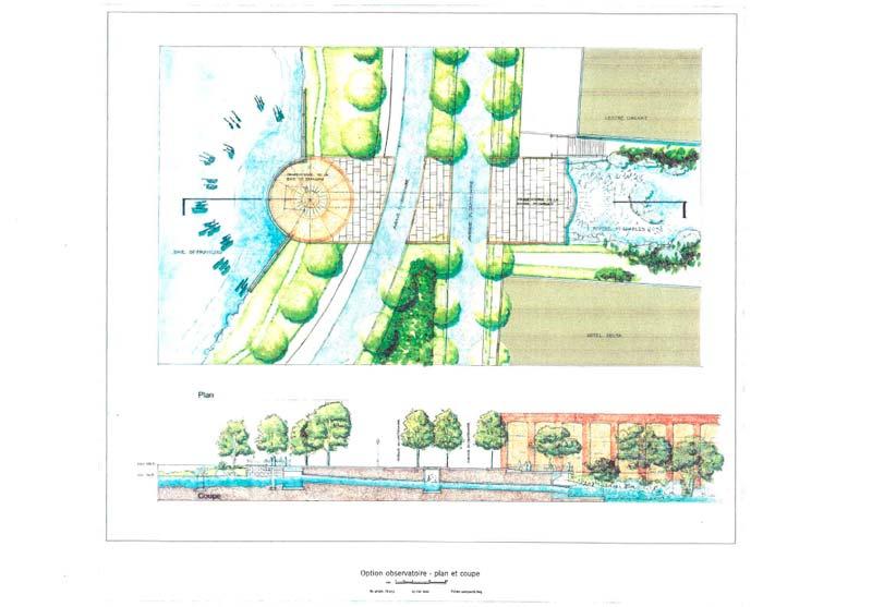 Planification du développement · Mise en valeur de l'embouchure de la rivière Saint-Charles