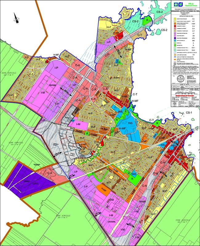 Planification du développement · Plan urbanisme